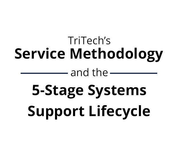 TriTechs Service Methodology and the 5 Stage Systems Support Lifecycle